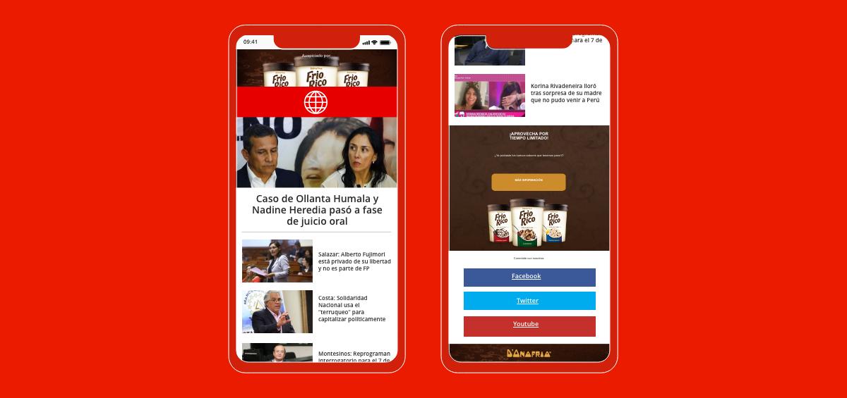 Newsletter Mobile